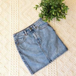 {ASOS} Denim Mini Skirt